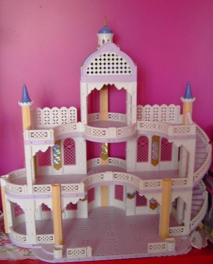 24 ch teau princesse playmobil 3 niveaux 120 jouets for Image chateau princesse