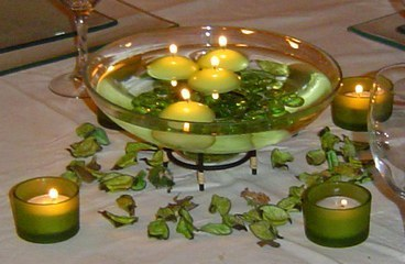 Deco table id e deco salle et tables mes gouts for Idee deco 90 ans