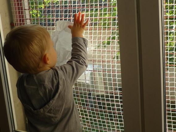 corvée vitre
