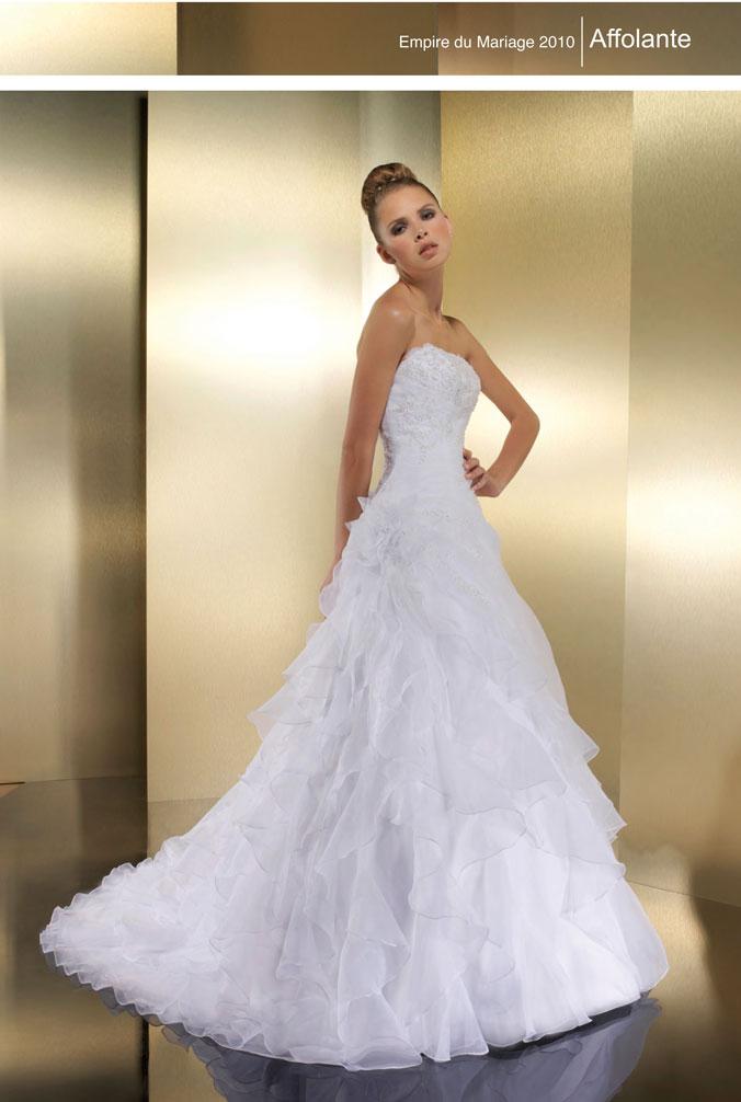 acheter en ligne 0fda8 e3b17 Robes L'Empire du Mariage - Robes de mariée - Mariage ...