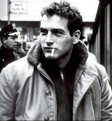 Paul Newman BW