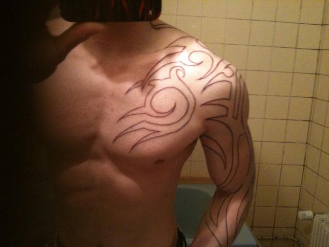 tatouage et muscu ?! - musculation - forum forme & sport