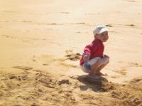 """Sur la plage de """"La Touesse"""" en Bretagne"""