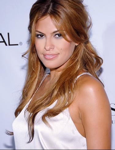 eva mendes 3150154b161 - Coloration Meche Blonde
