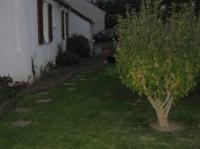 Le jardin devant de la maison
