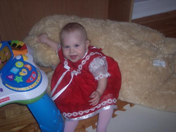 Daphnée 11 mois et demi