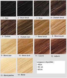 Couleur Cheveux Chatain Palette Modèle De Coiffure De Leurope