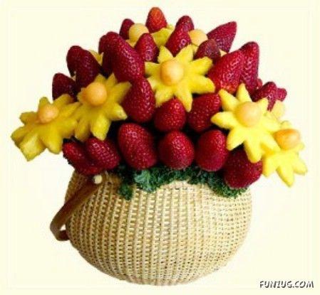 bouquet de fruits 7 bouquets de fruits linda moni photos club doctissimo. Black Bedroom Furniture Sets. Home Design Ideas