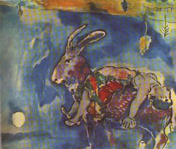 Le Rêve» de Marc Chagall
