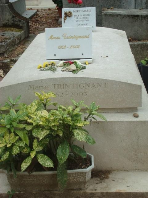 Marie Trintignant 1962-2005.