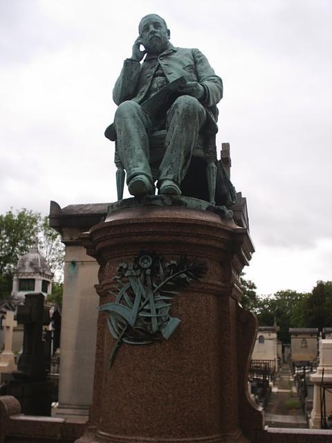 Gaston Vuidet, compositeur décédé en 1891 à l'âge de 37 ans.