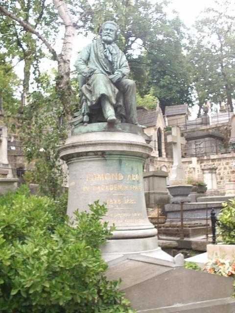 Edmond About ( 1828-1885 ) Ecrivain, journaliste, critique d'art, membre de l'académie française..