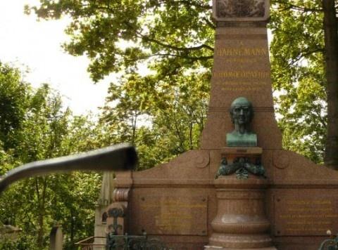 Dr Hahnemann fondateur de l'homéopathie.