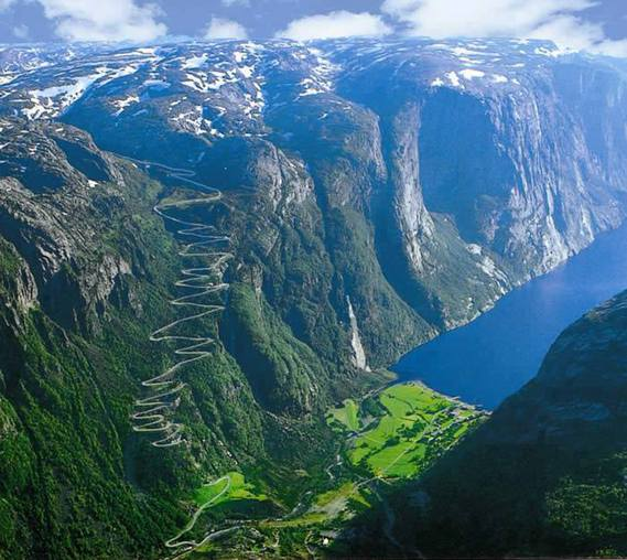 Lysefjorden, Norvège