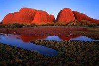 Les monts Olgas, Australie