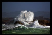 Lighthouse at Cantabria, Spain