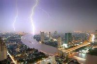 Lightning over Bangkok