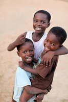 Beautiful smiles from Ghana
