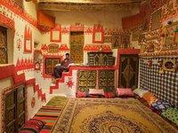 Maison traditionelle en Libye