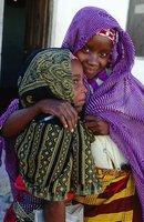 Makua girls in Mozambique
