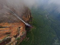 Angel Waterfall of Venezuela