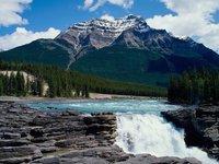 Athabasca Falls Jasper National Park Alberta , Canada