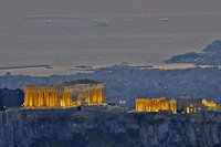 Athénes la nuit