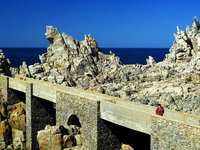 Bretagne, Ouessant, eperons-rocheux