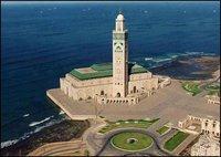 Casablanca, mosquée de Hassan II