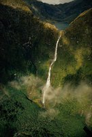 cascades Sutherland en Nouvelle Zelande
