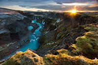 Central Highlands in Iceland