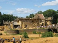 Chateau fort Guedelon