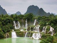 chutes de Ban Gioc, Viet-Nam