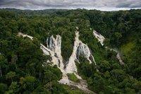 chutes de la Djidji, Parc National d'Ivindo, Gabon