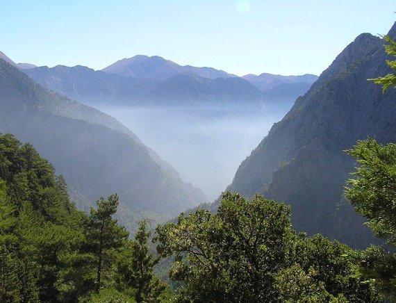 Crete - Samaria gorge