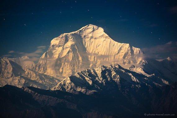 Dhaulagiri mont Nepal