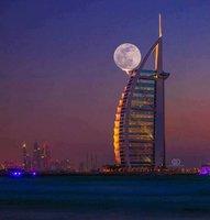 Dubai pleine lune