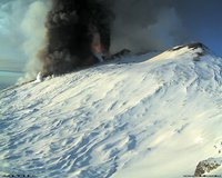 eruption Etna italy