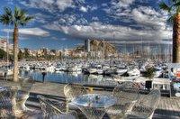 Espagne , le port d'Alicante