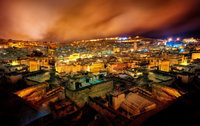 Fes by Night, Marocco