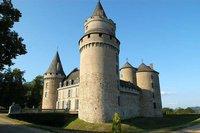 Haute-Vienne , Château de COUSSAC-BONNEVAL-