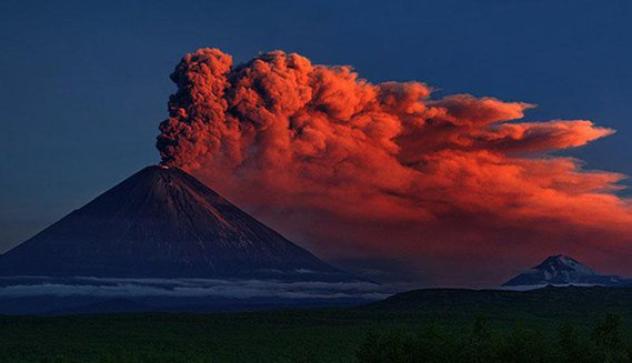 Kluchevkoy Volcano, Russia