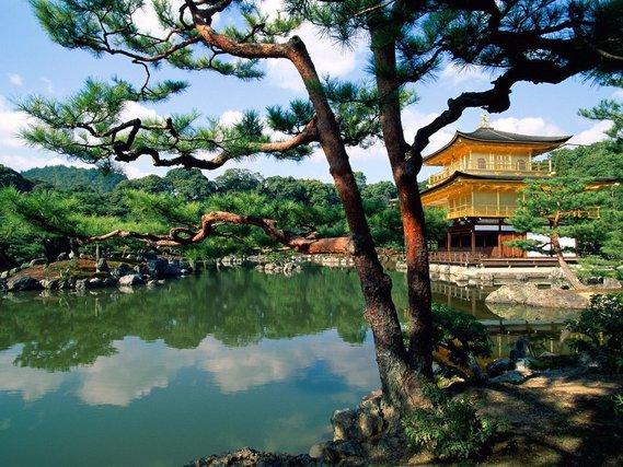 Kinkaku-ji, Temple of the Golden Pavilion,kyoto