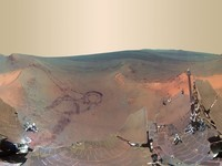 Greeley Panorama on Mars