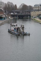 l'aspirateur du canal