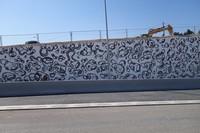 Marseille fresque quartiers nord