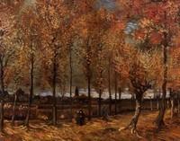 Van Gogh - Chemin avec peupliers