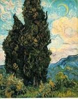 Van Gogh - Cyprès