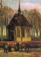 Van Gogh - Eglise