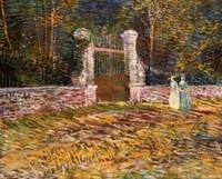 Van Gogh - Entrée du parc à Asnières
